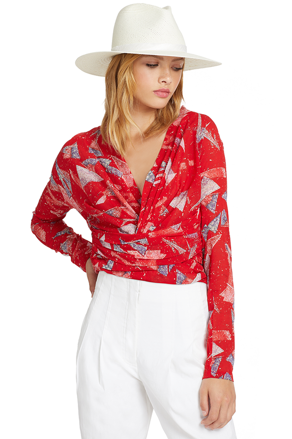 IRO Gabota Top (Red)
