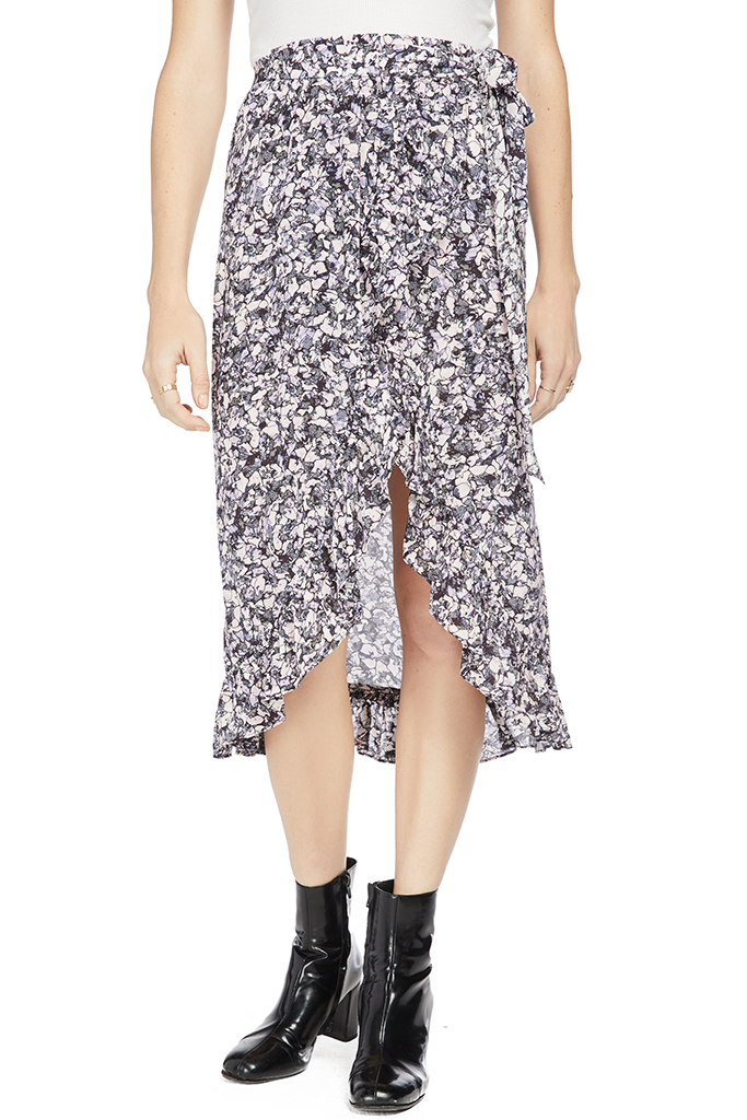 IRO Palmer Skirt Purple