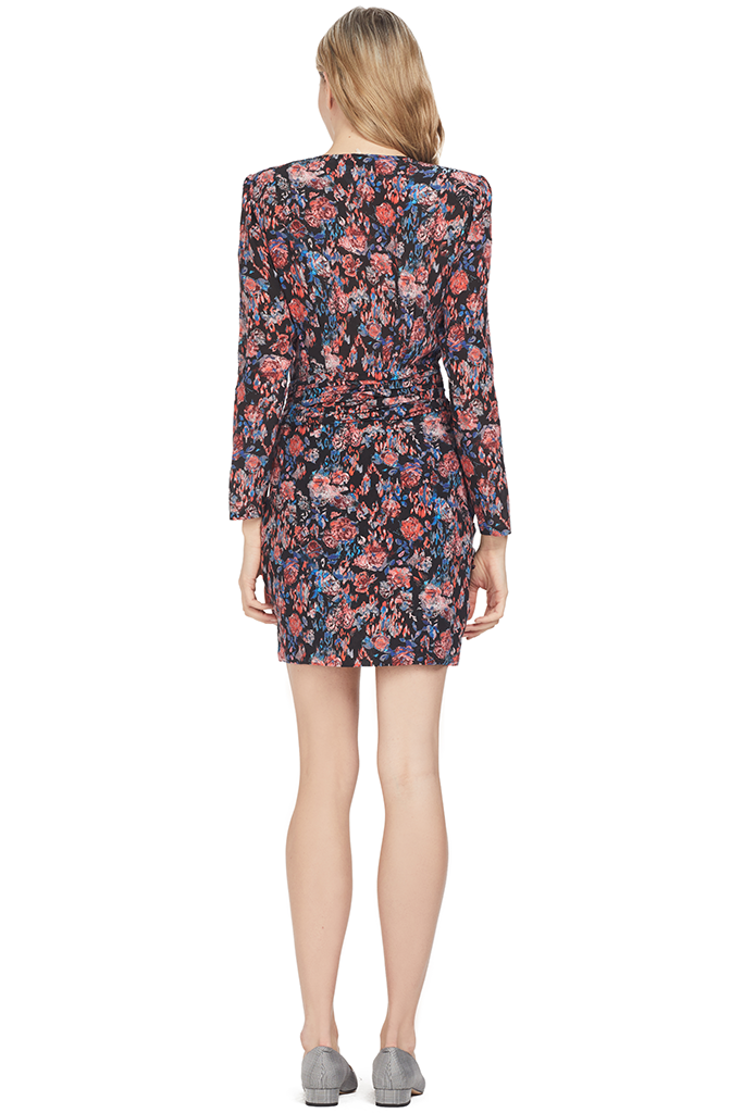 IRO Fling Dress (Black) Floral