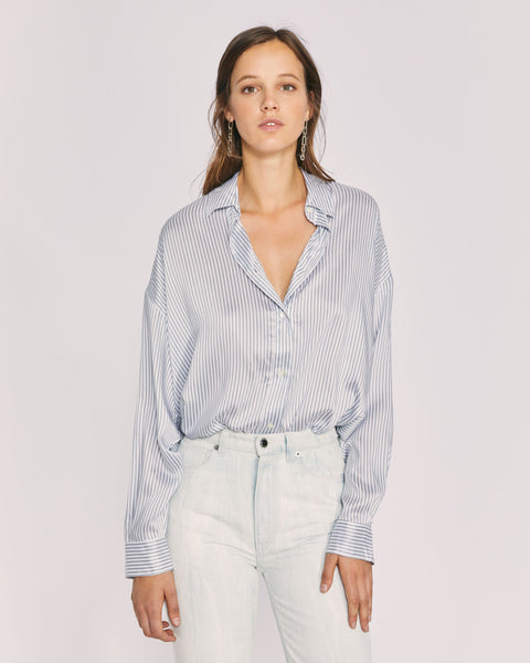 Mixo Shirt - Ecru/Grey