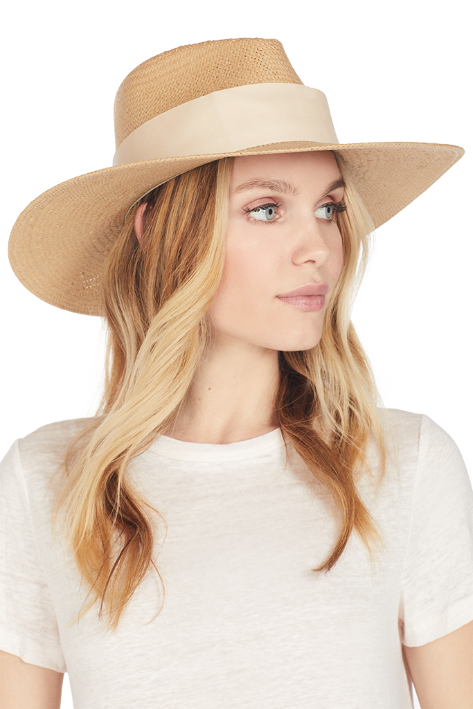Janessa Leone Clemence Hat (Sand)