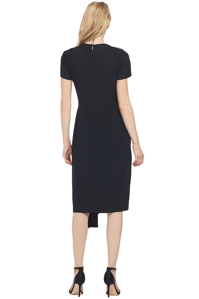 Jason Wu Collection Soft Crepe Sheath Dress (Black)