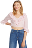 LOVESHACKFANCY Blake Top (English Rose)