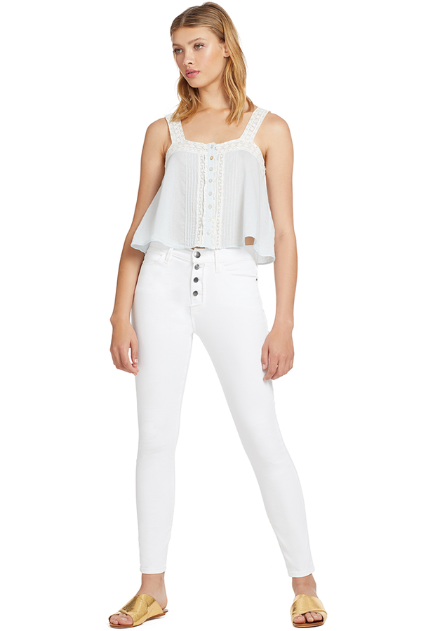 Loveshackfancy Daisy Top (Riviera)