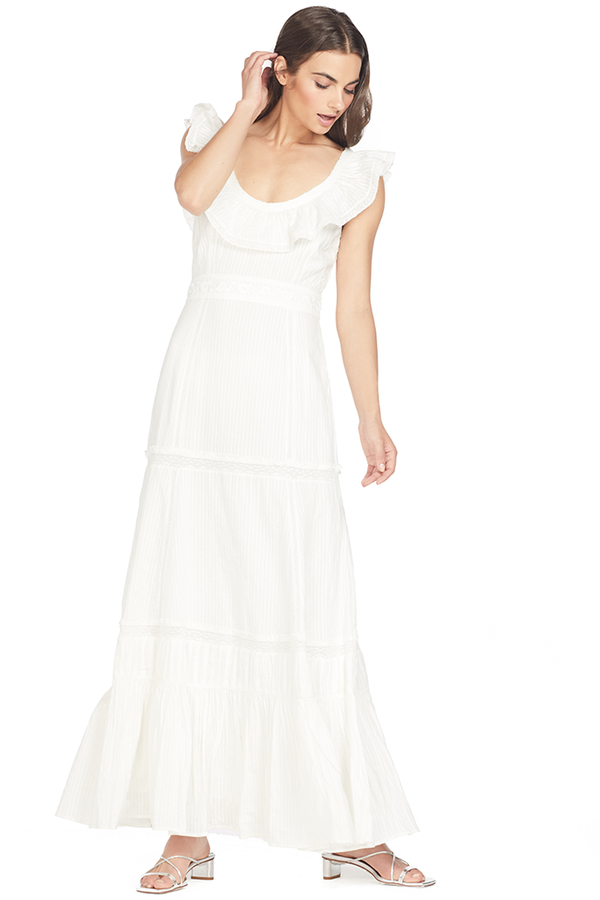 Loveshackfancy Joanne Dress (Cream)