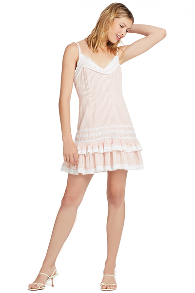 Loveshackfancy Tallulah Dress (Pearly Pale Pink)