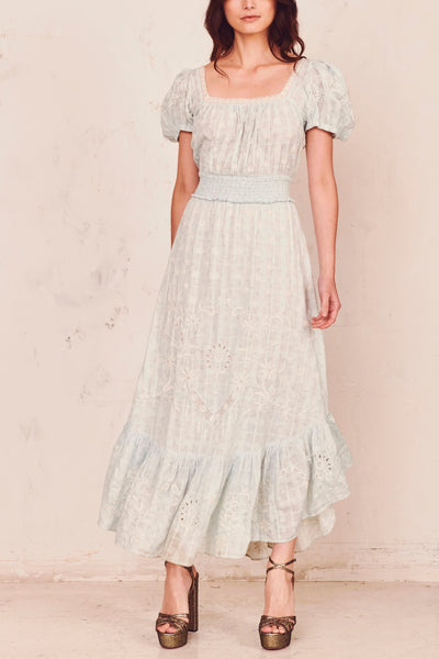 Begonia Dress - Sky Blue