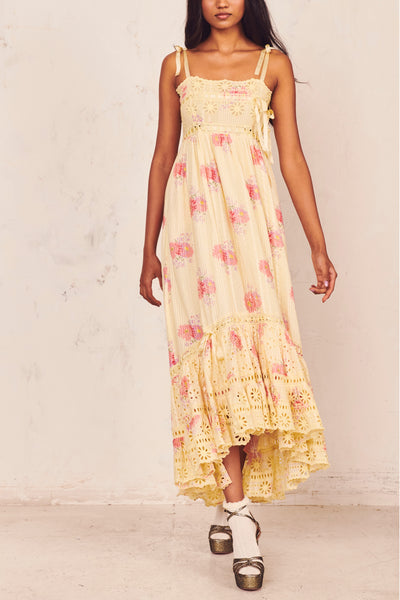 Vivi Dress - Mellow Yellow