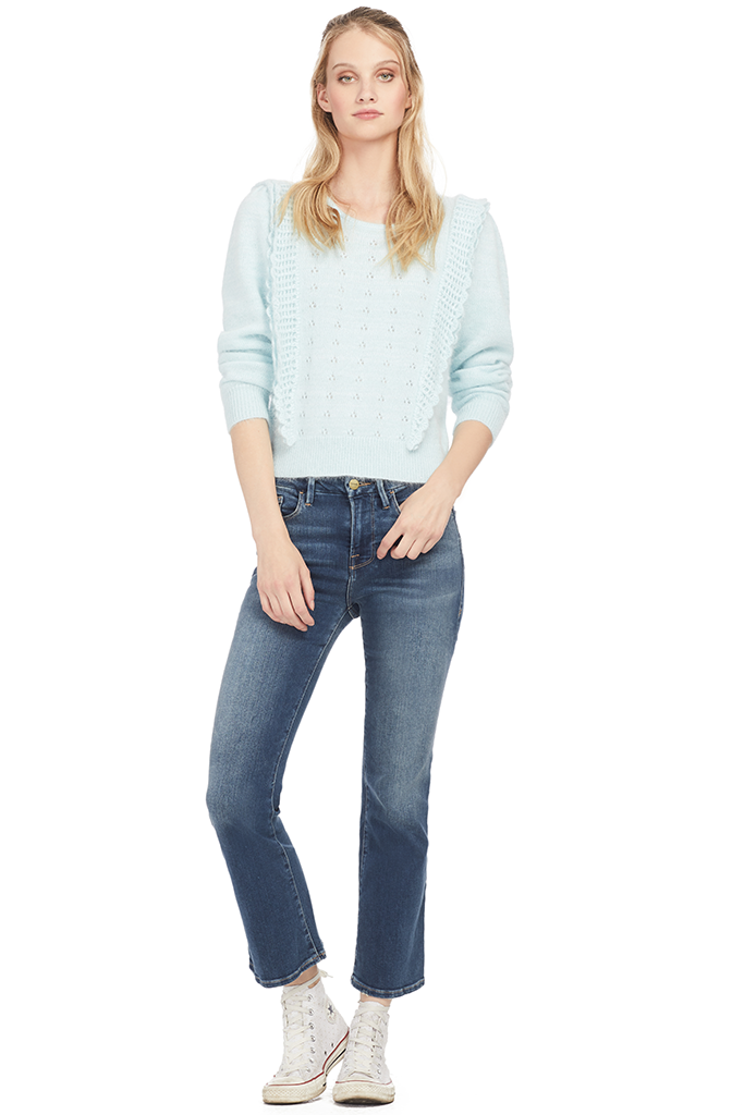Loveshackfancy Jasmine Pullover - Milk Boutique