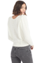 Loveshackfancy Jasmine Pullover White Shopatmilk.com
