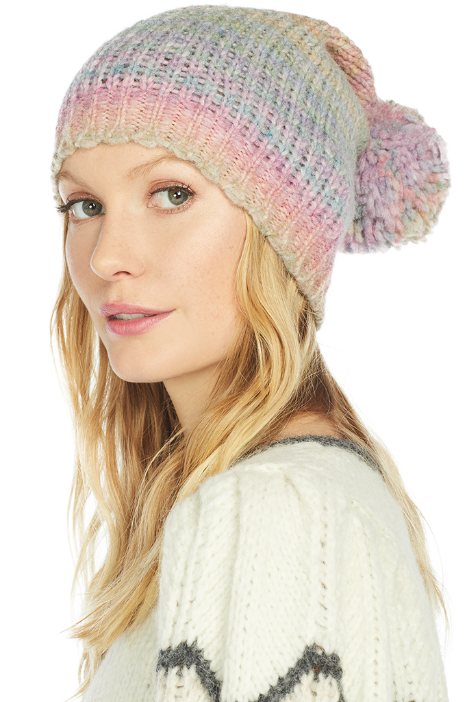 LoveShackFancy Merrick Hat (Rainbow)