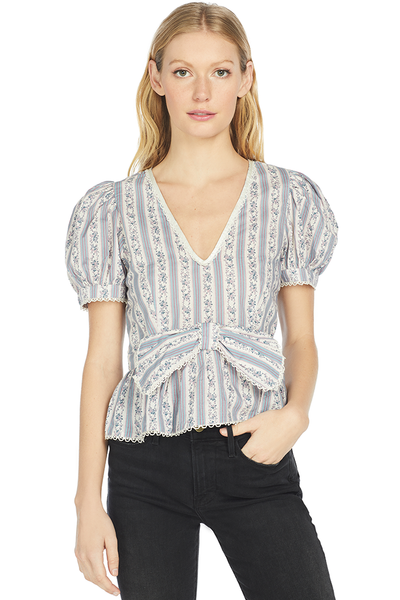 LoveShackFancy Rikki Top (Dusk)