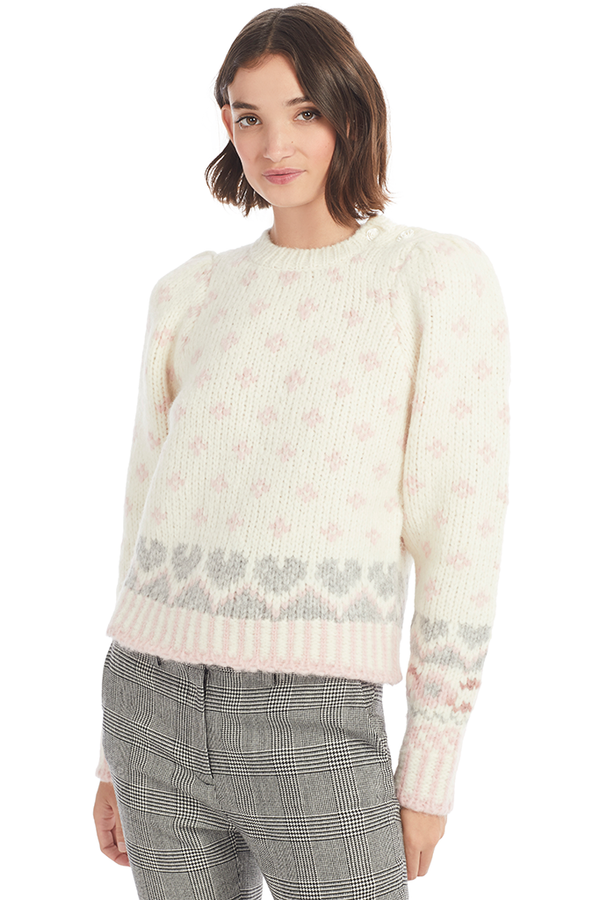 Loveshackfancy Rosie Pullover Milk Boutique
