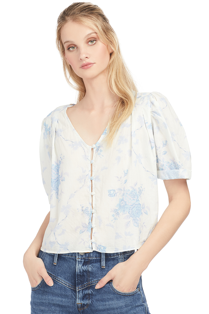 Loveshackfancy Tarren Top - Milk Boutique
