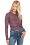 Michelle Mason Cropped Sweater (Cayenne)