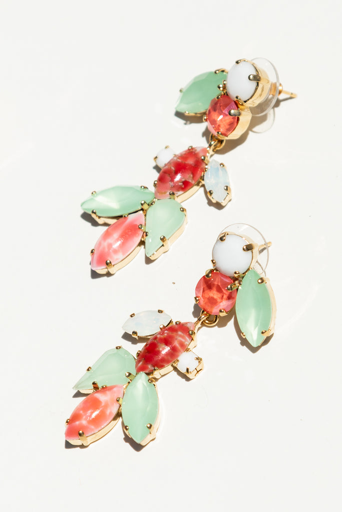 Milk Boutique Isla Chandelier Earrings Tutti Frutti Fine Jewelry