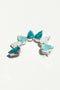 Milk Boutique Iona Crescent Earring Turquoise