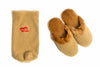 Milk Slippers (Camel) - Cashmere Slippers