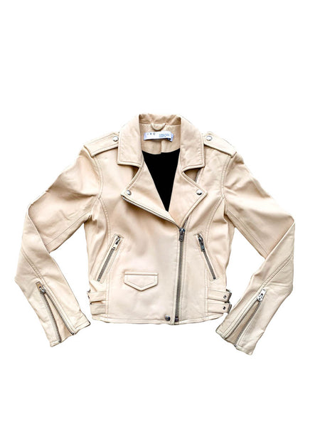 Ashville Biker Jacket - Natural