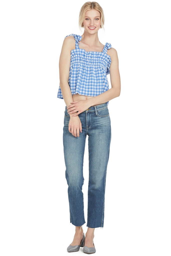 Ganni Murillo Top (Lapis Blue)