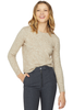 Nanushka Fitted Crewneck Sweater Latte