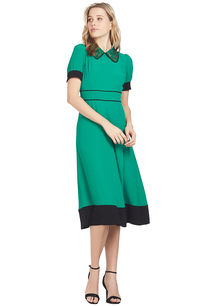 Abito Dress (Emerald Green)