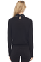 Numero Ventuno Embellished Collar Wool Blend Sweater (Black)