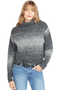 RtA Beau Turtleneck Sweater Heather Vape