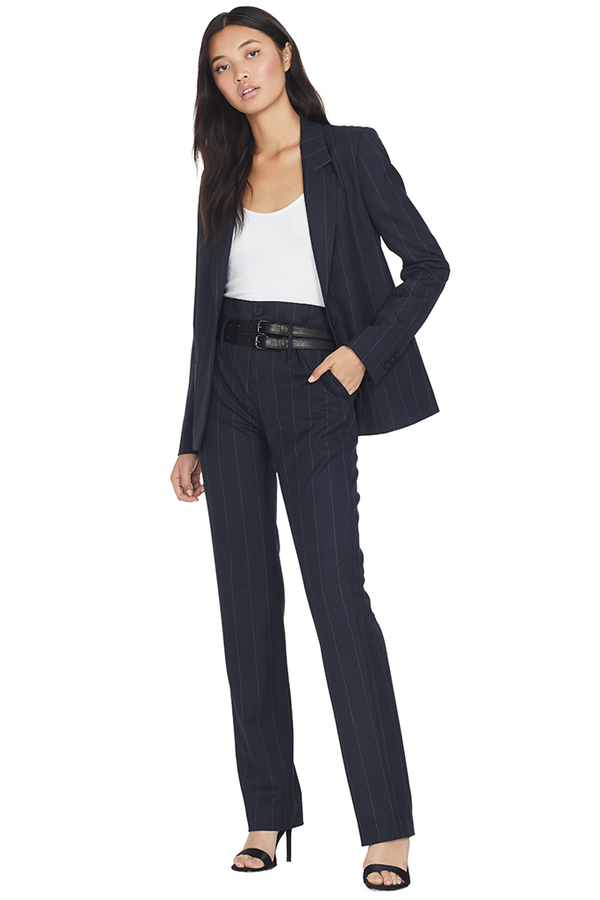 Dillon Belted Trouser (Navy)
