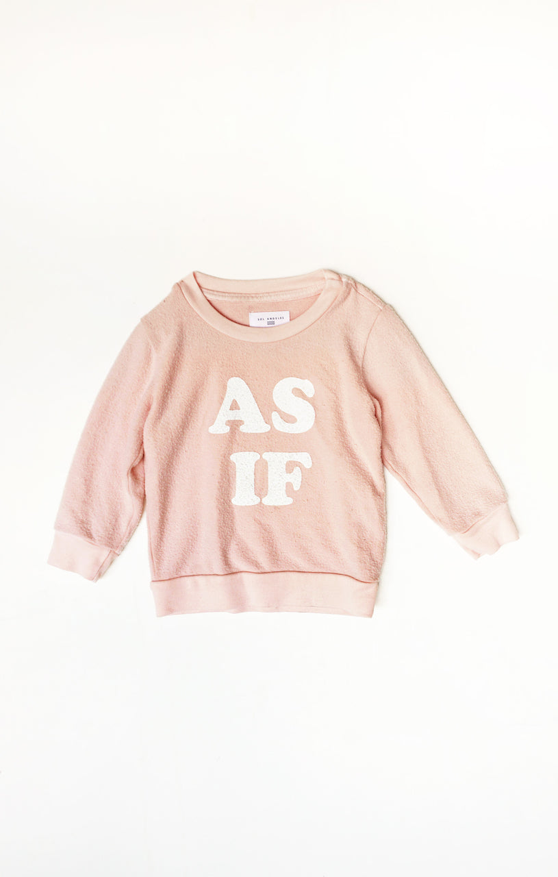 Baby As If Pullover (Coral)