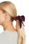 Milk Boutique | The Audrey Scrunchie (burgundy)