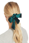 Milk Boutique | The Audrey Scrunchie (green)