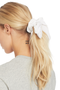 Milk Boutique | The Audrey Scrunchie (white)