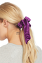 Milk Boutique | The Audrey Scrunchie (purple)