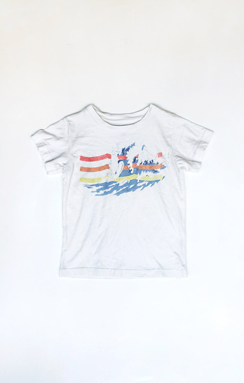Great Waves Crew (White)
