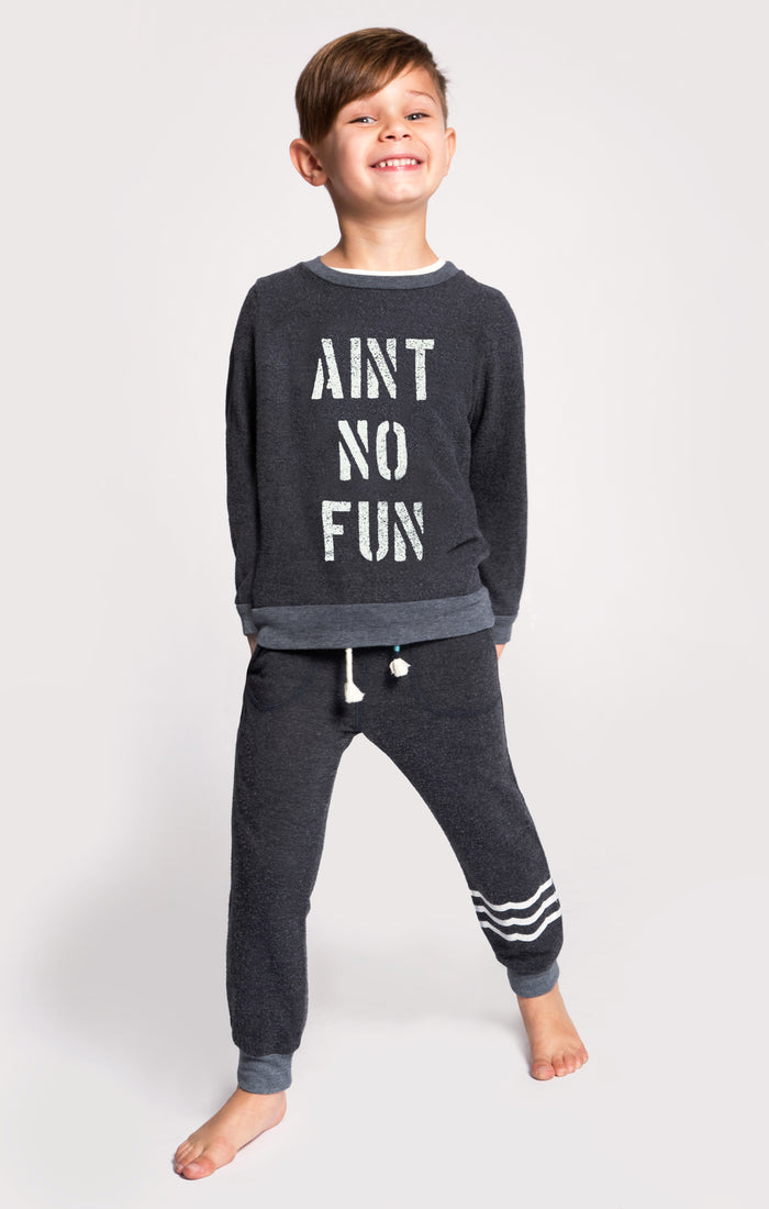 Aint No Fun Pullover (Black)