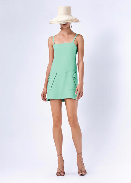 Stephana Mini Dress - Mint Green