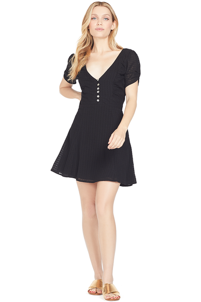 Suboo Eclipse Mini Dress (Black)