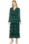 Saloni Devon Dress (Dark Forest Green)