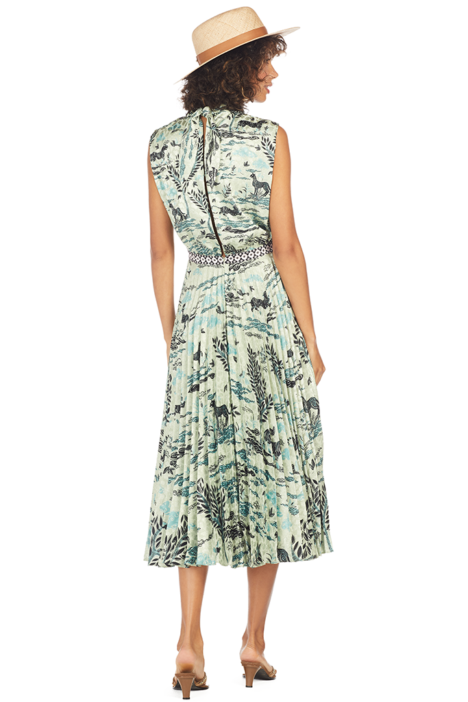 Fleur E Dress - Speckle Safari