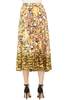 Saloni Kim Skirt (Saffron Cloud Tiger)