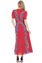 Lea Long Dress (Scarlet Polka Dot)