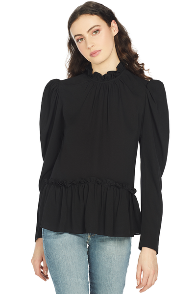 Saloni Mel Top (Black)