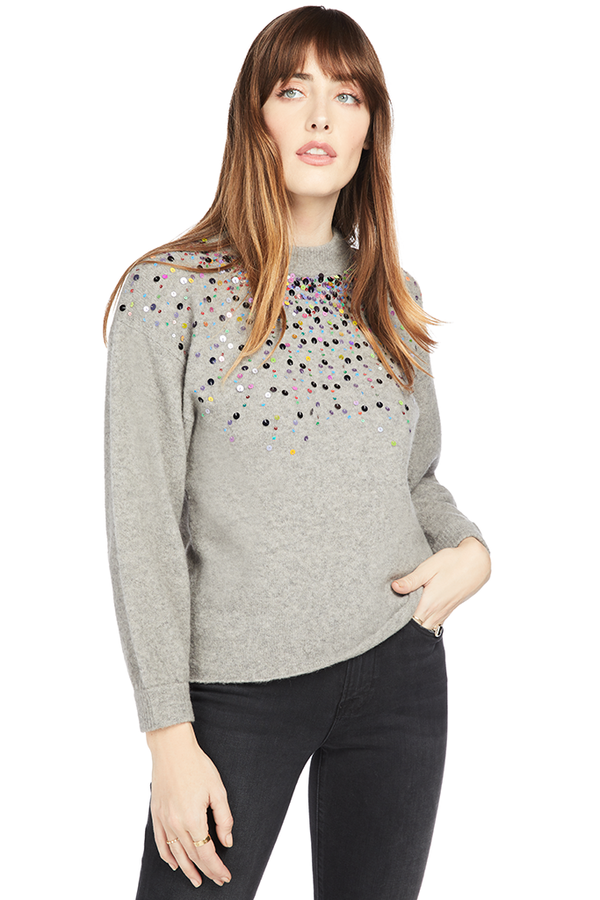 Saylor Isadora Sweater Grey