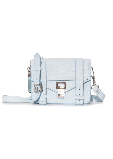 PS1 Mini Crossbody - Lux Leather - Baby Blue