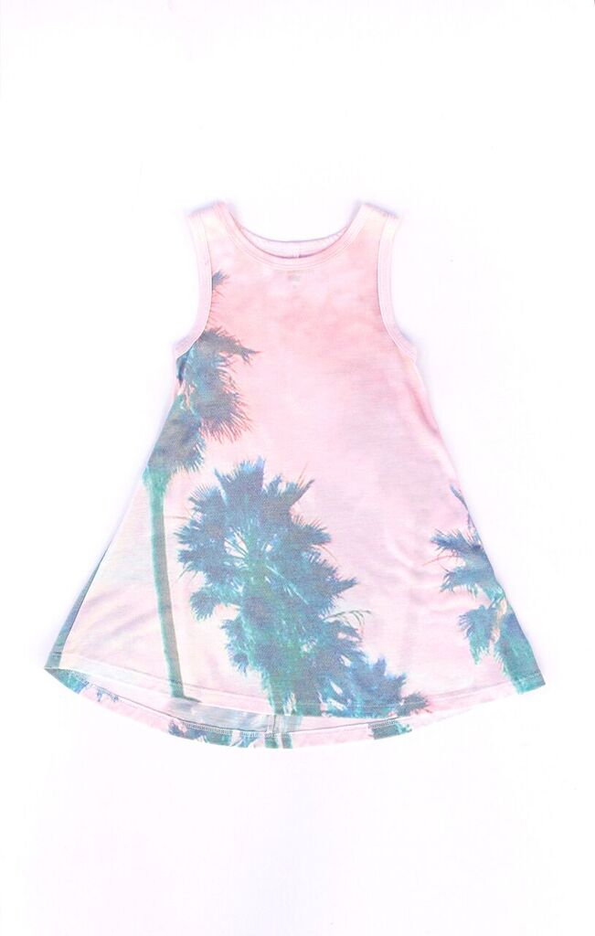 Summer Sunset Flounce Dress