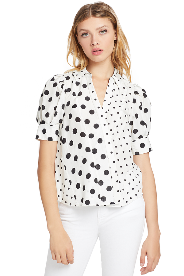 Tanya Taylor Angela Top (Polka Dot)