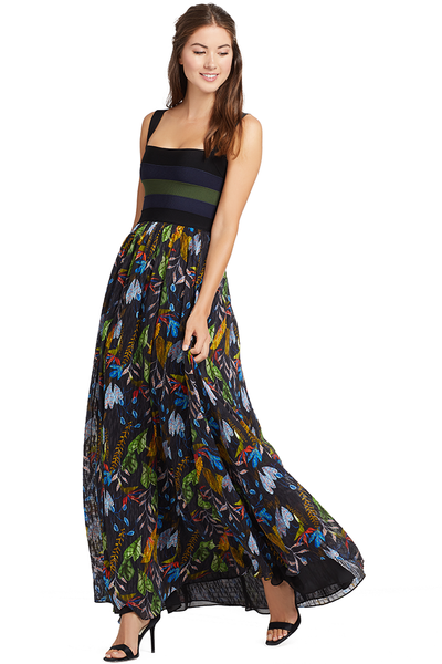 Tanya Taylor Felicia Dress (Jungle Leaves)