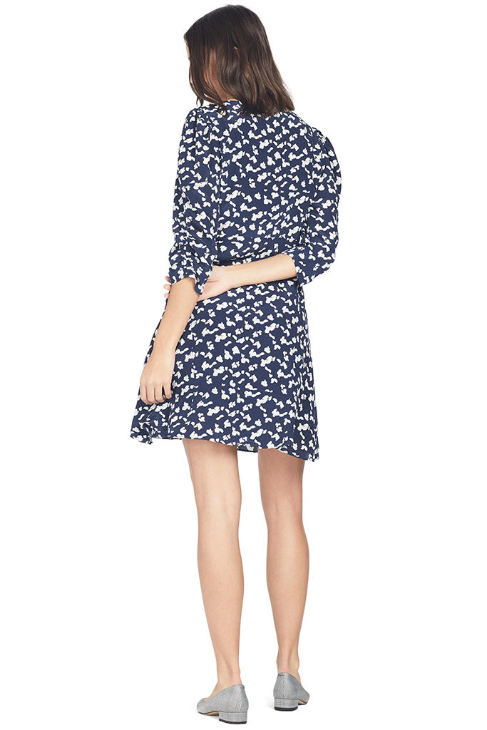Tanya Taylor Dylan Dress in Silhouette Spots