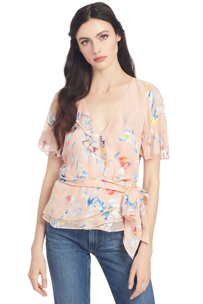 Tanya Taylor Bianka Top (Blush)